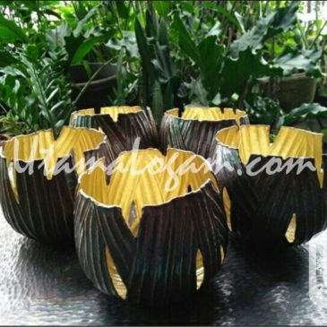 Bowl Kuningan Ukir Finishing Hitam | WA 0812 9626 2676